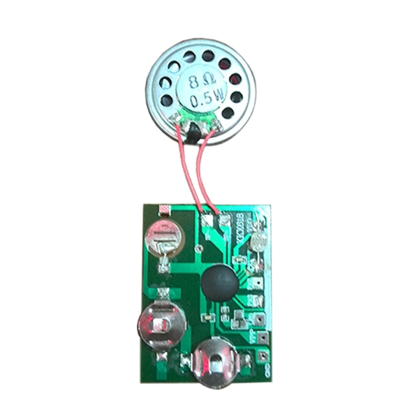Single Push Button Sound Module Customized for greeting card