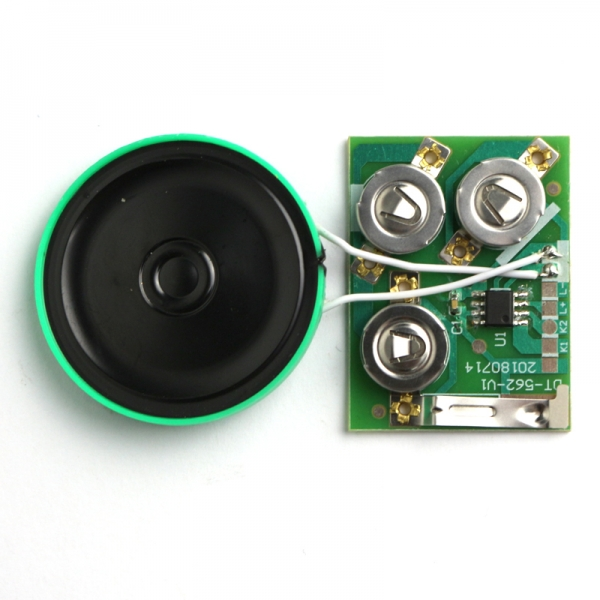 High sound quality music chip for greeting card