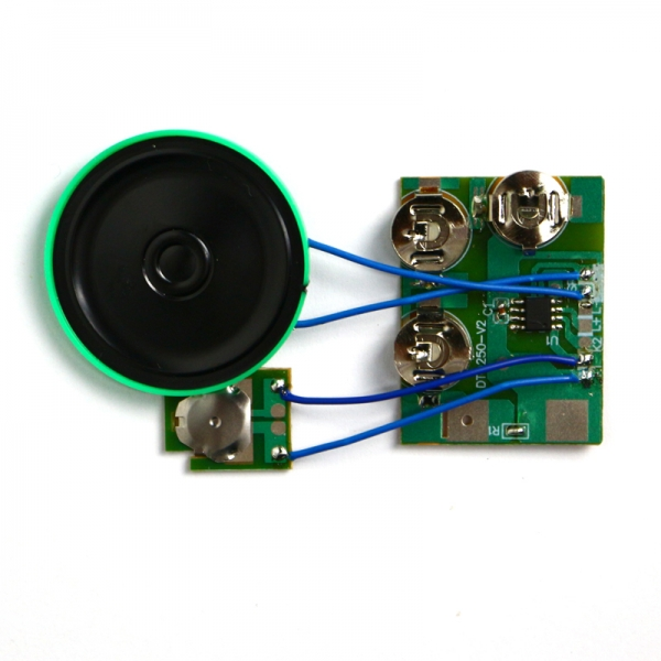 3v/4.5v/6v power supply sound module for greeting card