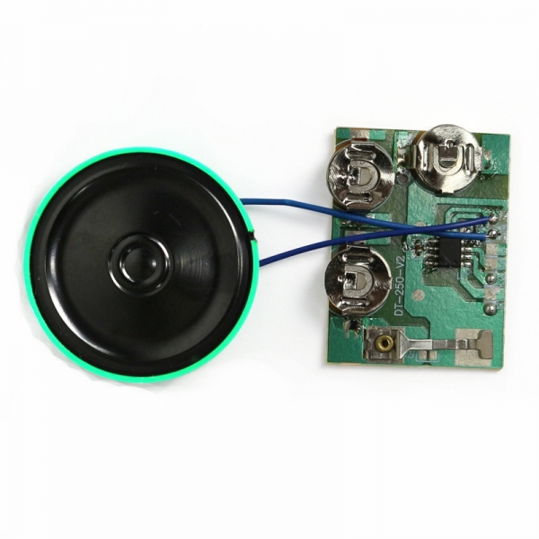 custom slide switch music chip for cards
