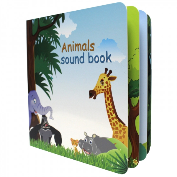 Customized design baby sound book voice book sound music book